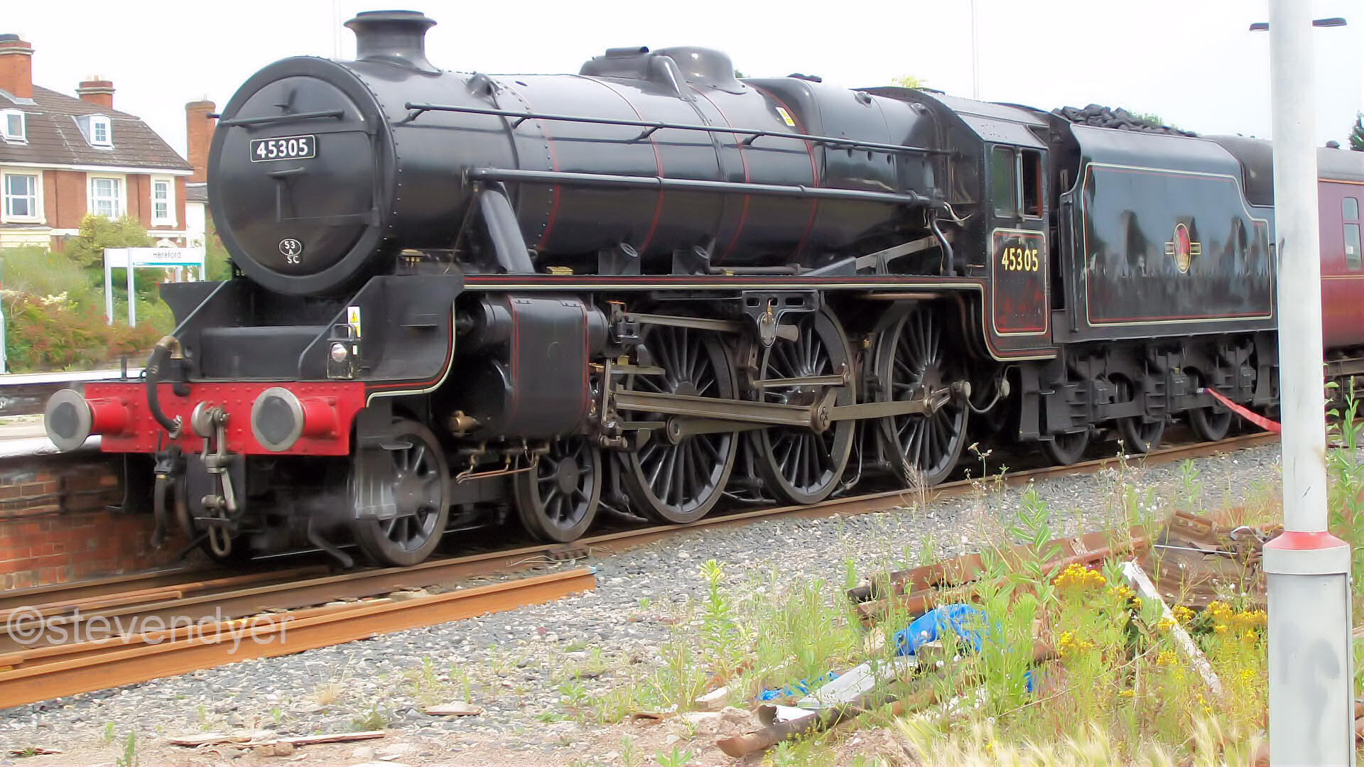 steam train movements today